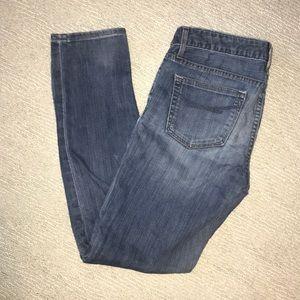 Gap skinny blue jeans SZ 27